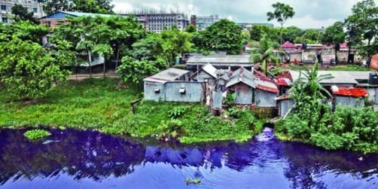 bangladesh pollution colours